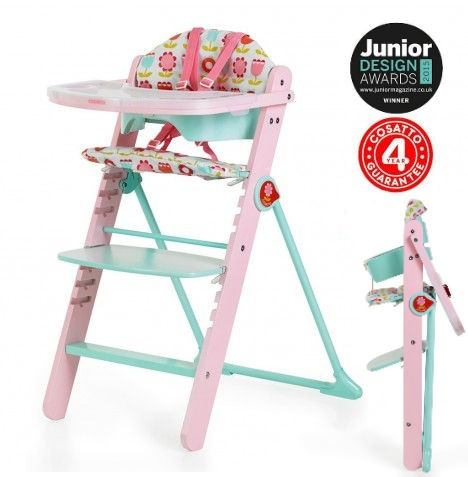 Cosatto Waffle Highchair (6 Months - 12 Years) - Heidi